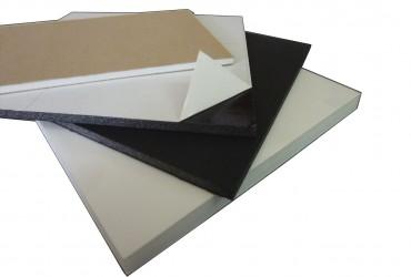 Cartón Pluma blanco